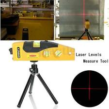 Laser Level Cross Line Self Levelling Measuring Tripod Rotary Accessories 10m FZ