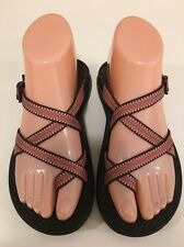 Chaco Zong X Ecotread Pink Toe Loop Sport Sandals Women's Size 6