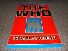 """The Who Wembley UK 1989 Concert Poster reprint, approx. 17""""x28"""" ArtRock"""