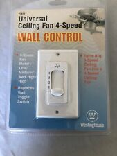 Westinghouse 77872 Universal Ceiling Fan Wall Control, 4-Speeds