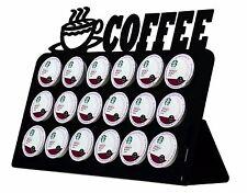 18-Slot Acrylic Keurig K-Cup Coffee Pod Holder MADE IN USA