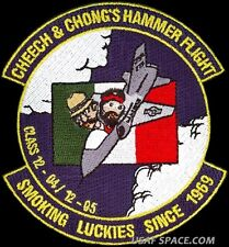 USAF PILOT TRAINING CLASS-2012-04/05-CHEECH & CHONG HAMMER FLIGHT ORIGINAL PATCH