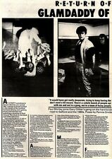 7/3/81PGN12/13/14 ARTICLE WITH PICTURES: GARY GLITTERS GANG IN THE 1980S