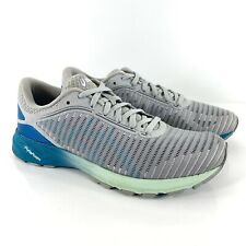 Asics Gel DynaFlyte 2 Womens Size 8 Running Shoes White Grey Blue Green T7D5N