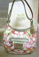 COACH 16700 POPPY SCRIBBLE DREAM C SIGNATURE HOBO SHOULDER BAG Multicolor NEW