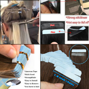 Double Sided Adhesive Super Tape For Tape in Human Hair Extensions Skin Weft 50p