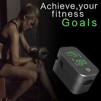 JUMPER LED Finger Pulse Oximeter Blood Oxygen Saturation SpO2 Heart Rate Monitor