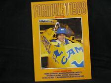 Book Formule 1 1988 door Anjes Verhey (Nederlands)