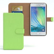Tasche für Samsung Galaxy A5 (2015) Case Wallet Schutz Hülle Cover Grün