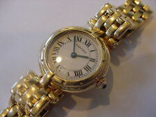 Cartier 18K SOLID Gold Panthere Cougar Ladies Watch; Beautiful~~66 Grams!