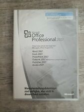 Microsoft Office Professional 2007 Word Excel PowerPoint Outlook PublisherAccess