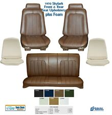 1970 Skylark Custom/GS Coupe Bucket & Rear Seat Upholstery + Foam, Any Color