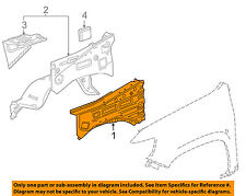 GM OEM Fender-Side Rail Right 23229850
