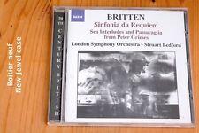 Britten - Sinfonia da Requiem Gloriana Sea Interludes Steuart Bedford - CD Naxos