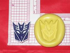 Transformers Decepticon Autobot Silicone Mold A600 Cake Resin Clay