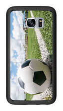 Soccer Ball On Chalk Line For Samsung Galaxy S7 G930 Case Cover by Atomic Market