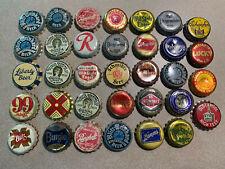 Random Beer Cork Bottle Caps, lot of (34)
