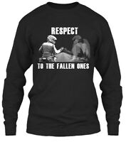 In Memory Of Fallen Ones Respect To The Gildan Long Sleeve Tee T-Shirt