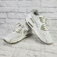 Nike Air Max 314455 101 Womens Size 8 US Shoes White Leather Sport Running