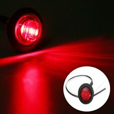 12V CAR TRUCK TRAILER ROUND LED BULLET BUTTON REAR SIDE MINI MARKER LIGHTS