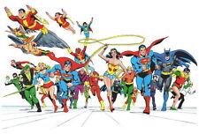 """194 DC COMICS - Save World Superman Wonder Woman USA Hero Anime 35""""x24"""" Poster"""
