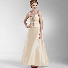 Full-Length Taffeta Ball Gowns for Women