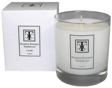 TCC Bergamot Rosemary & Sandalwood Scented Candle 40 hour