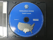 VW VOLKSWAGEN NAVIGATION GPS CD DVD DISK SOUTH CENTRAL S0022-0004-306 #CD153