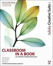 NEW - Adobe Creative Suite 2 Classroom in a Book by Adobe Creative Team