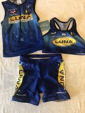 Sugoi Luna Chix Women's Triathlon 3-piece Race Kit, Size Medium