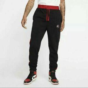 NWT Nike Air Jordan Remastered Striped Jogger Sweatpants Men's SZ L CD5761-010