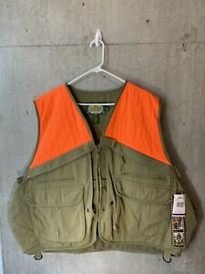 NWT! Cabela's Men's Upland Hunting Vest w/Game Pouch Size 2XL/XXL