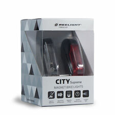 REELIGHT CITY SUPREME STEADY FRONT AND REAR BIKE LIGHT SET 39792