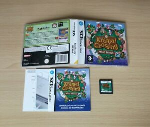 WELCOME TO ANIMAL CROSSING WILD WORLD NINTENDO DS PAL ESPAÑA NDS 3DS 2DS CROSING
