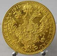 Austria, 1 Dukat 1915, Gold .986, Franz Joseph