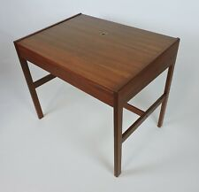 Arne Wahl Iversen Danish Modern Teak Desk or Vanity Table, Model 82