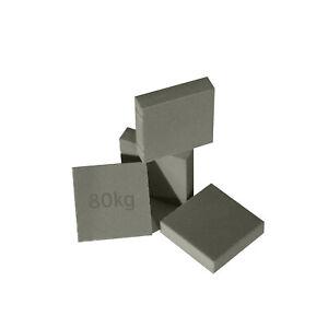 Sylomer SVP 80 (4x 12,5mm Sylomer SVP für 80kg Belastung je Pad)
