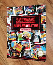 Der Offizielle Super Nintendo Spieleberater / Guide / SNES Mario World Metroid