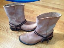 Sweet! Steve Madden Cromme Leather Ankle Boots Size 7.5 Medium