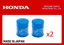 GENUINE HONDA OIL FILTER CIVIC ACCORD CR-V HR-V ALL YEARS 15400-RTA-003 x 2 QTY