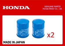 GENUINE HONDA OIL FILTER CIVIC ACCORD CR-V HR-V ALL YEARS 15400-RTA-003 x 2 QTY