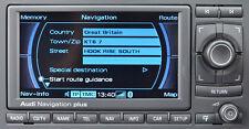 Audi a3 a4 a6 RS TT seat RNS-E rnse navegación-reparación de errores láser