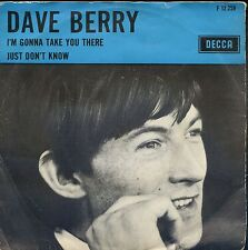 7inch DAVE BERRY i'm gonna take you there HOLLAND 60'S +PS EX