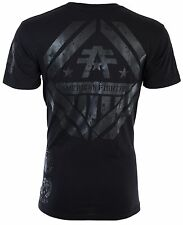 American Fighter Mens S/S T-Shirt AVERETT Black Reflective Ink S-3XL $40