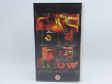 THE CURE - SHOW - Live Concert - Rare VHS videotape 1992. Never released on DVD