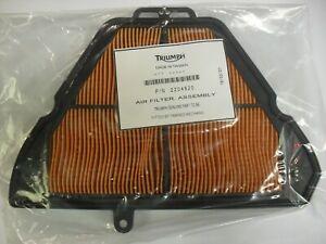 GENUINE TRIUMPH SPRINT ST / GT 1050 AIR FILTER AIR CLEANER FILTER ELEMENT