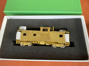 OVERLAND MODELS HO Scale -BRASS C&O INTL W-V CABOOSE Unpainted - boxed