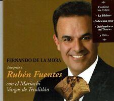 Fernando de La Mora Int. RubenFlores (Made in Mex)(Digipak) BRAND  NEW SEALED CD
