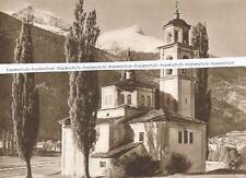 Poschiavo - Brusio - Sta. Maria Kirche - Puschlav - Großformat - um 1920 . Q3-13