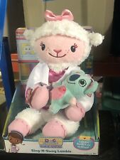NEW Disney Doc McStuffins Sing-N-Sway Lambie Plush Figure